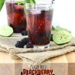 Blackberry Mojito {Sugar-Free}