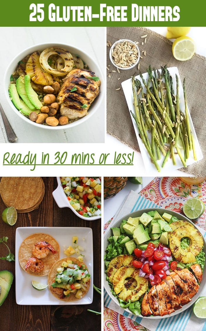 25 gluten free dinner recipes in under 30 minutes photo credit food faith fitness the roasted root lexis clean kitchen forumfinder Images
