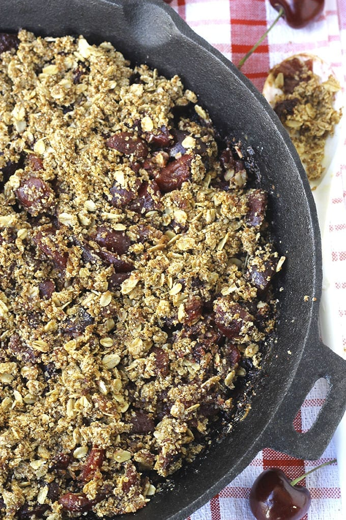 ... homemade cherry crumble cherry almond crumble this sour cherry crumble