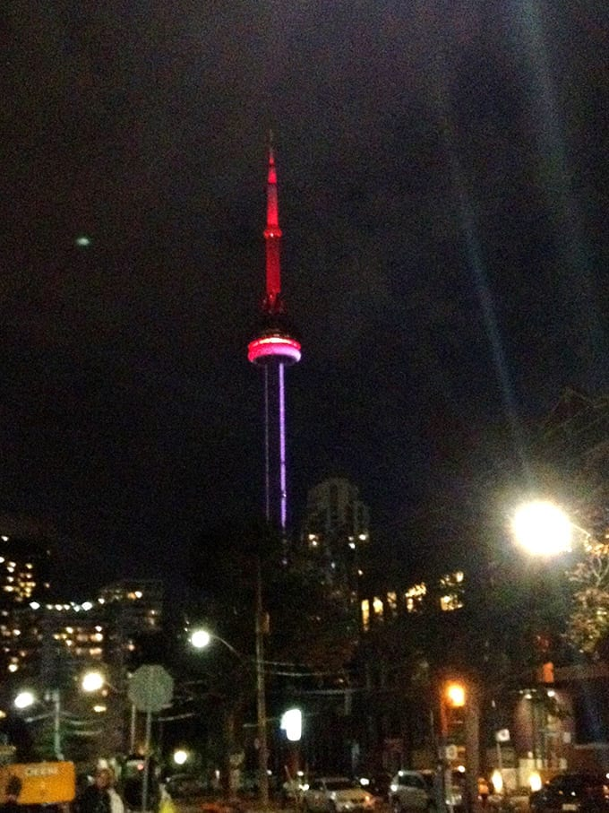 CN tower copy
