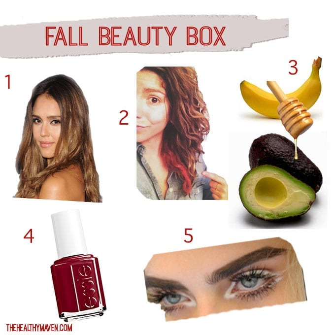 Fall Beauty Box // thehealthymaven.com