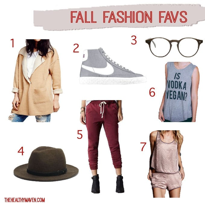 Fall Fashion Favs // thehealthymaven.com