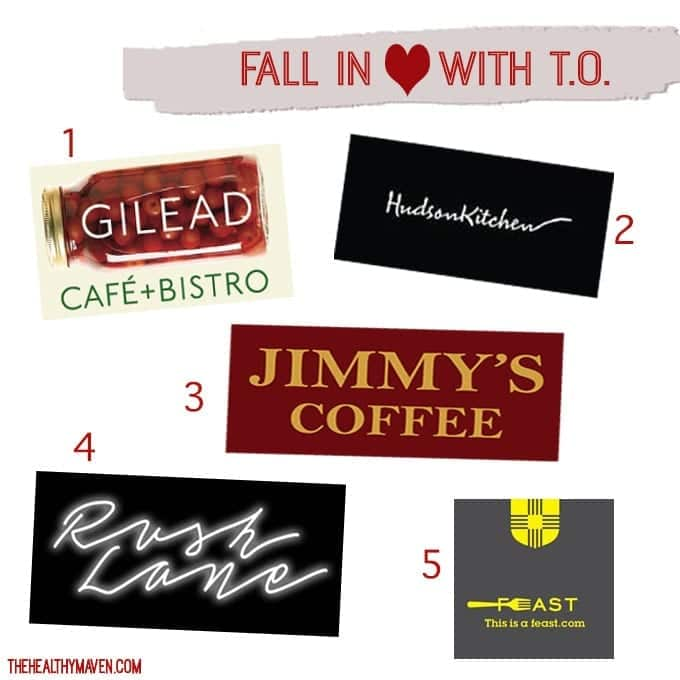 Fall in love with T.O. - fun fall foodie finds around #toronto! // thehealthymaven.com