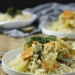 Slow Cooker Chicken & Veggie Green Curry