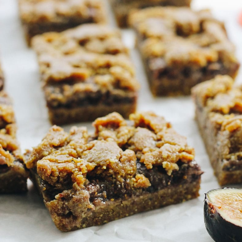 Raw Fig Bars The Healthy Maven