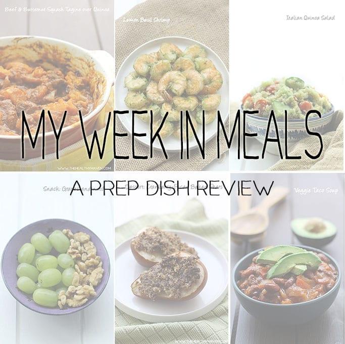 my week in meals