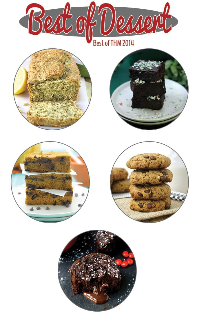 Best of Desserts 2014 from The Healthy Maven