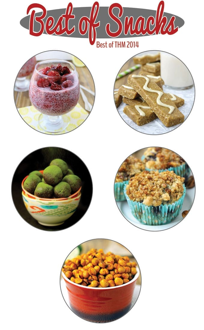 Best of snacks 2014 from The Healthy Maven