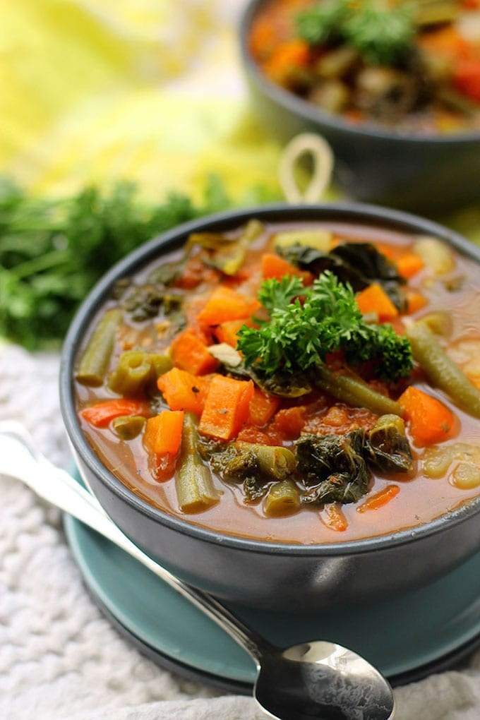 Detox Vegetable Soup The Healthy Maven