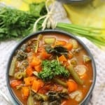 Detox Vegetable Soup + 6 Delicious Ways to Detox Your New Year and a $150 Amazon Gift Card Giveaway!