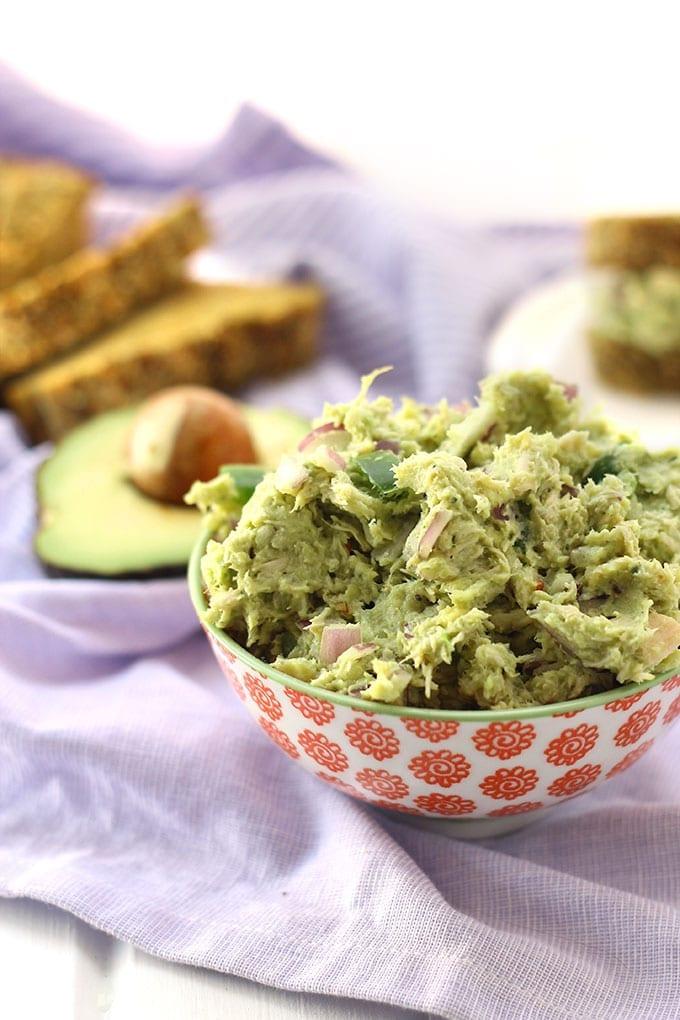 Guacamole Chicken Salad - an easy, healthy and delicious lunch recipe ...