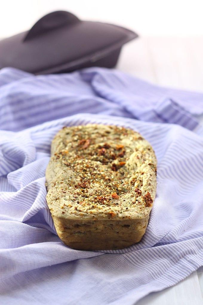 8 minute gluten-free bread!