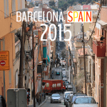 Barcelona, Spain 2015 - where to go eat and sleep in Barcelona.