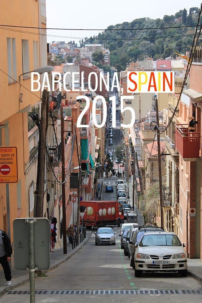 Barcelona, Spain 2015 - where to go eat and sleep in Barcelona.