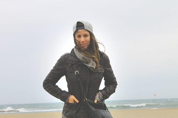 d-on-beach