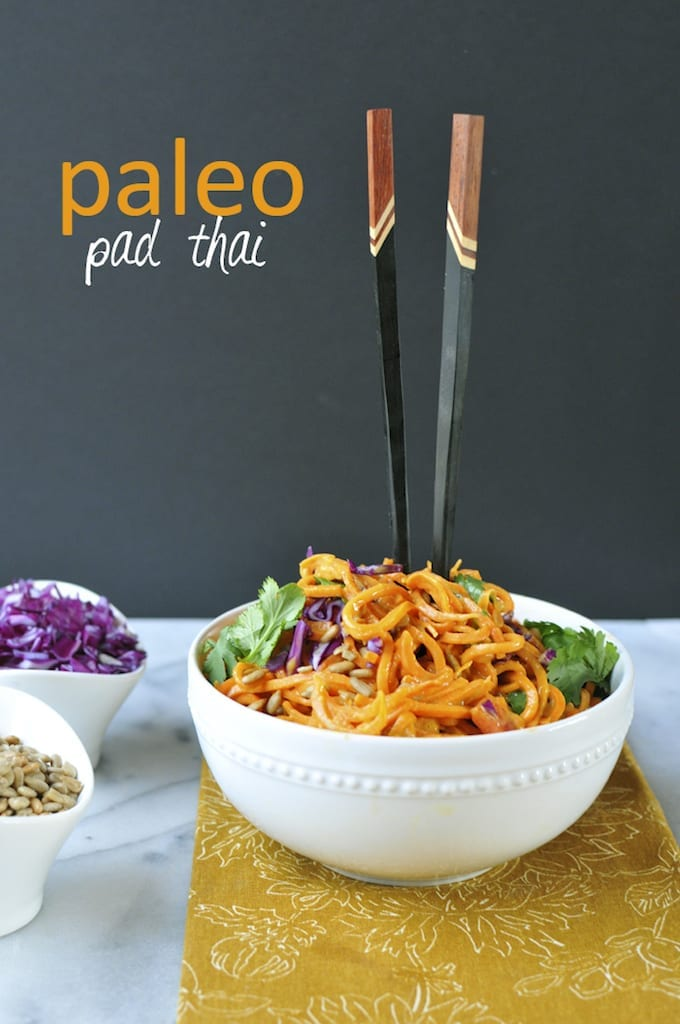 Paleo Pad Thai from Nosh and Nourish
