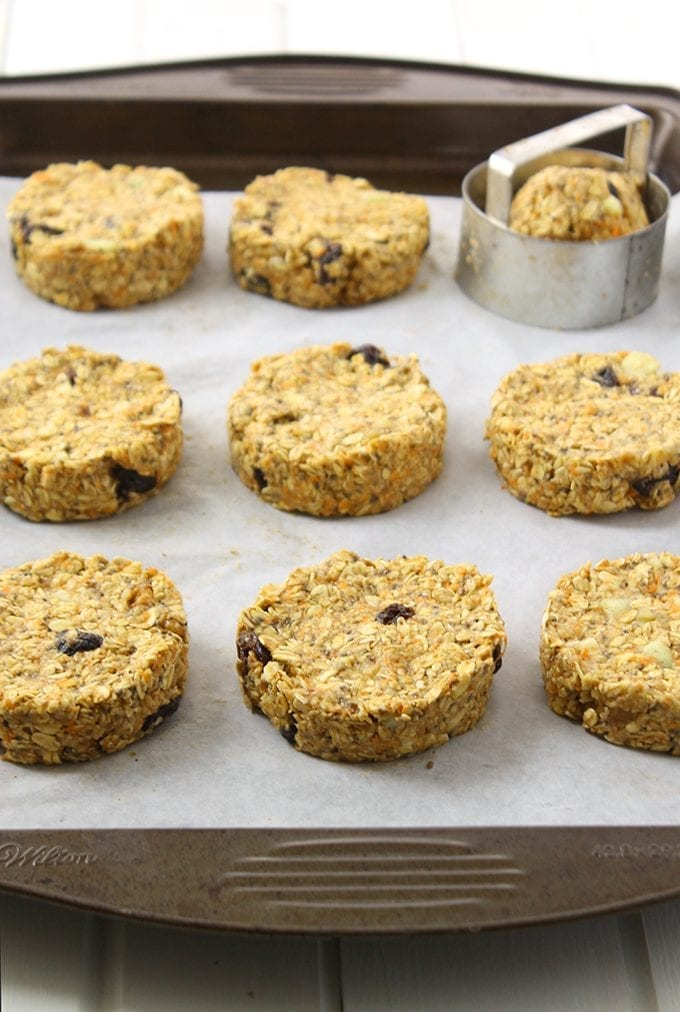 Need a quick and filling breakfast on the go? These No-Bake Morning Glory Breakfast Cookies are ready in 20 minutes and can easily be packed for those mornings when you find yourself running out the door.