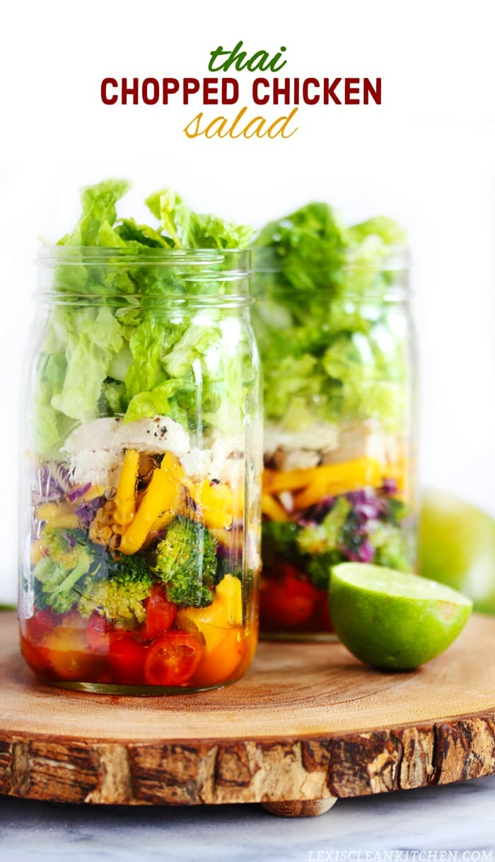 Healthy Mason Jar Salad Recipes - you don't know salad until you've ...