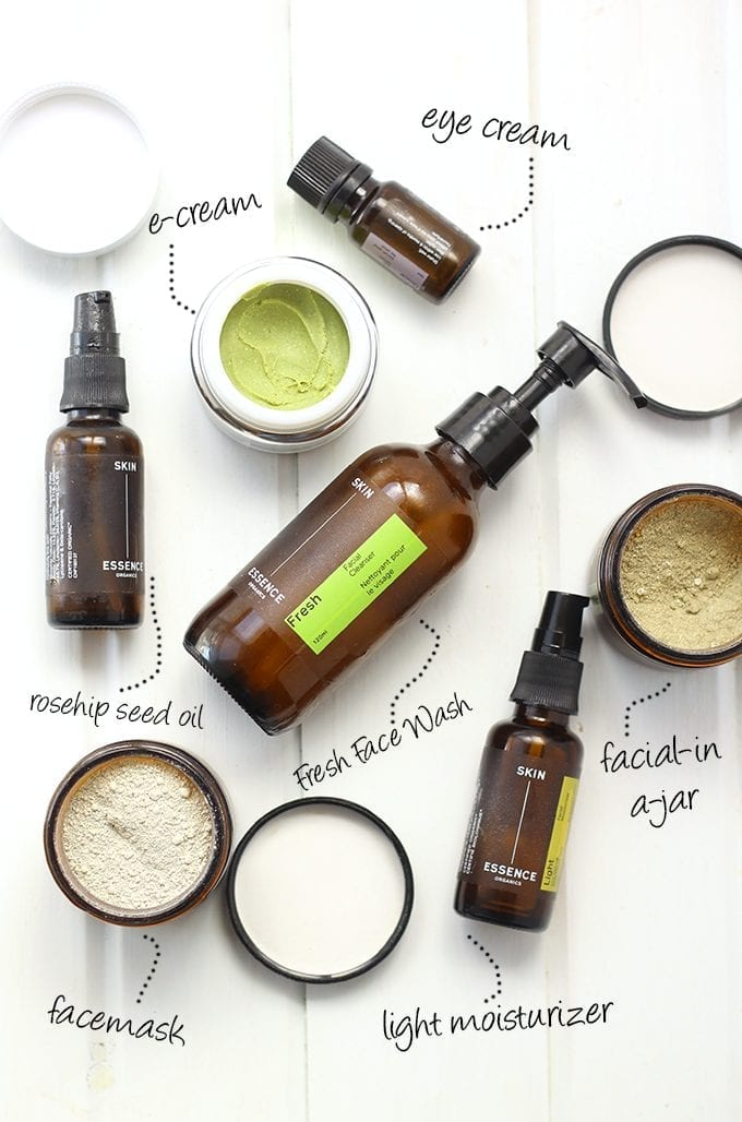 My Natural Skin Care Routine // thehealthymaven.com
