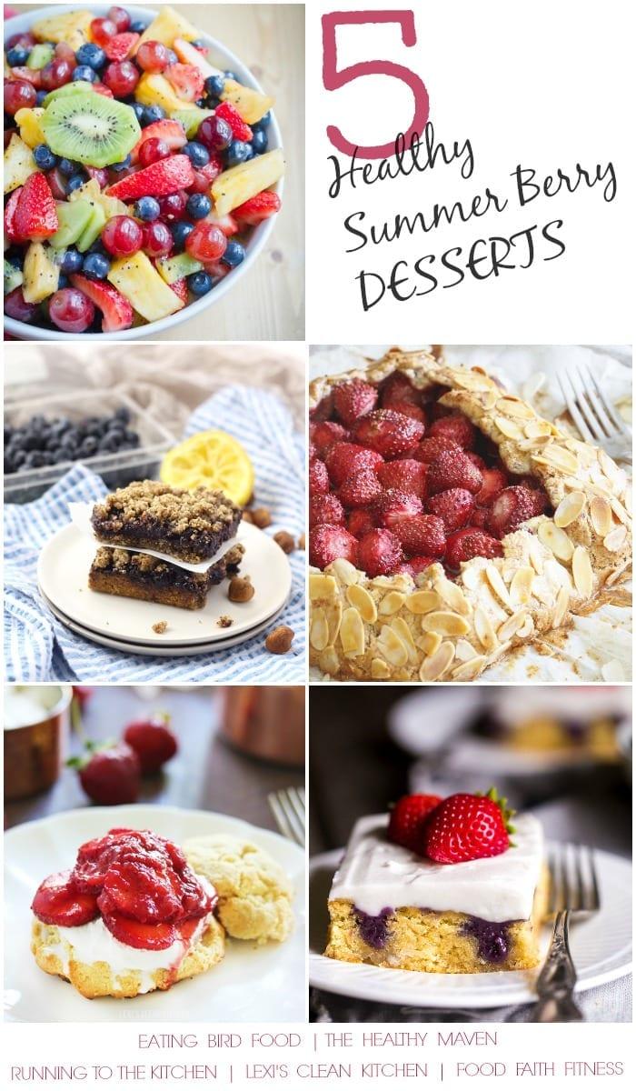 5 Healthy Summer Berry Desserts
