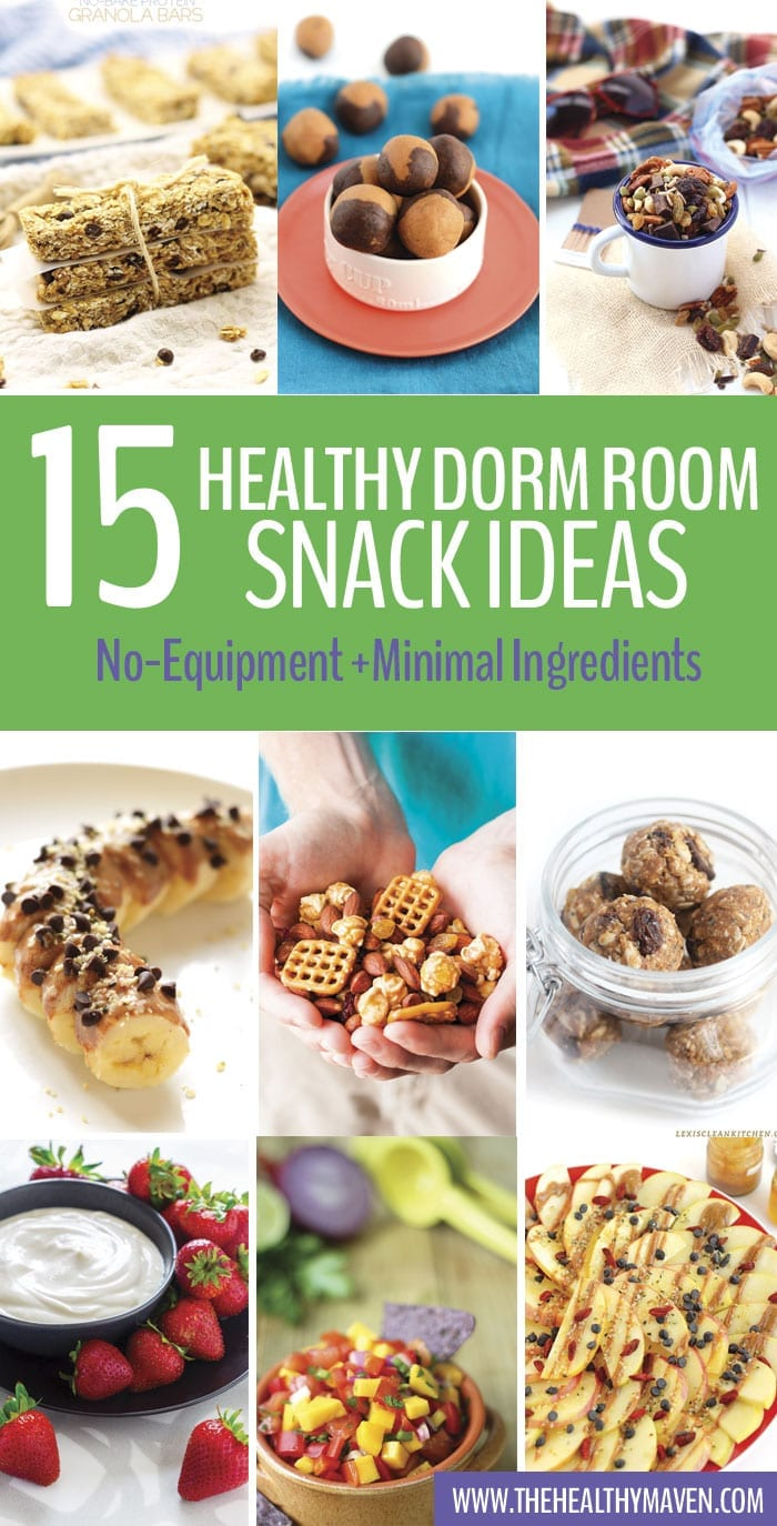 A Round Up Of Healthy Dorm Room Snack Ideas That Donu0027t Require Any Part 6
