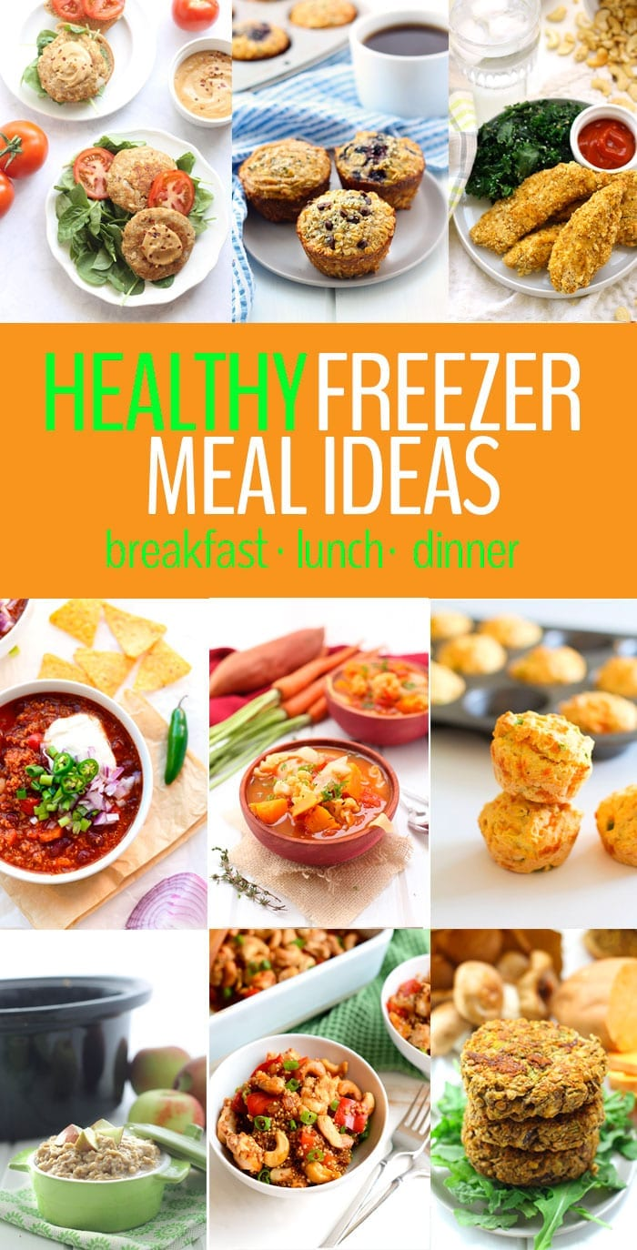 A round-up of Healthy Freezer Meals including tips on How To Preserve Them For Longer! Don't let freezer food go to waste, meal prep with these healthy meals that are easy to whip up straight from the freezer.