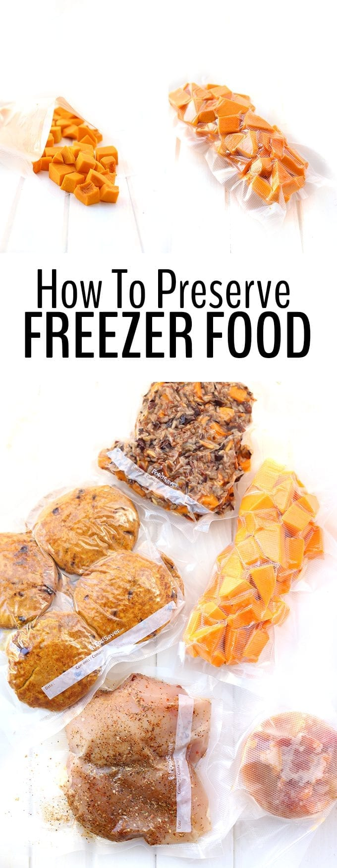 How To Preserve Food In The Freezer.