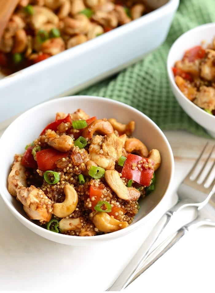 cashew-chicken-quinoa-bake-collage