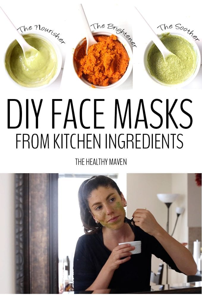 3 powerful and effective recipes for DIY Face Masks made entirely from kitchen ingredients! Whether your skin is dry, damaged or just in need of some life, these face masks will help nourish your skin using plants from the earth.