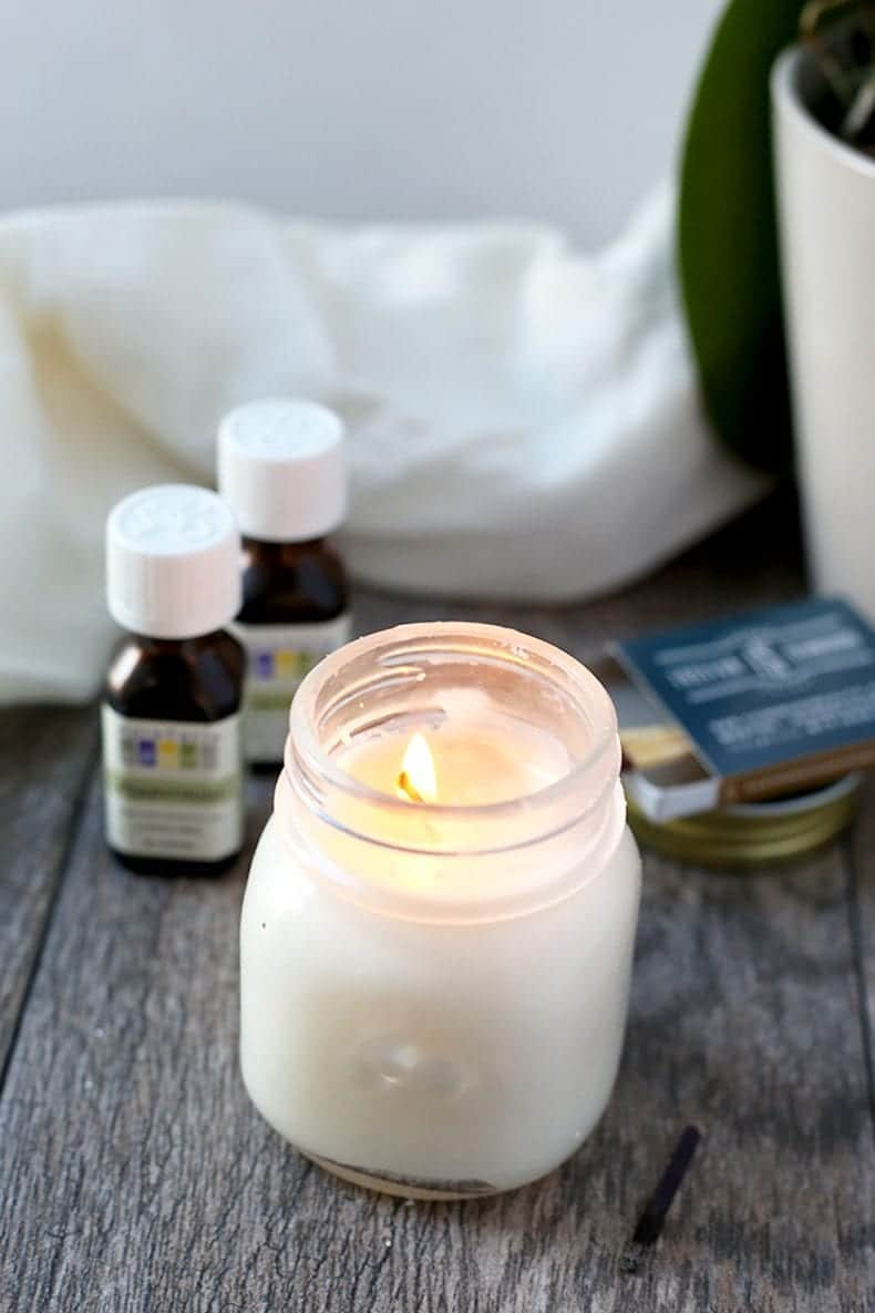 Homemade Aromatherapy Candles The Healthy Maven