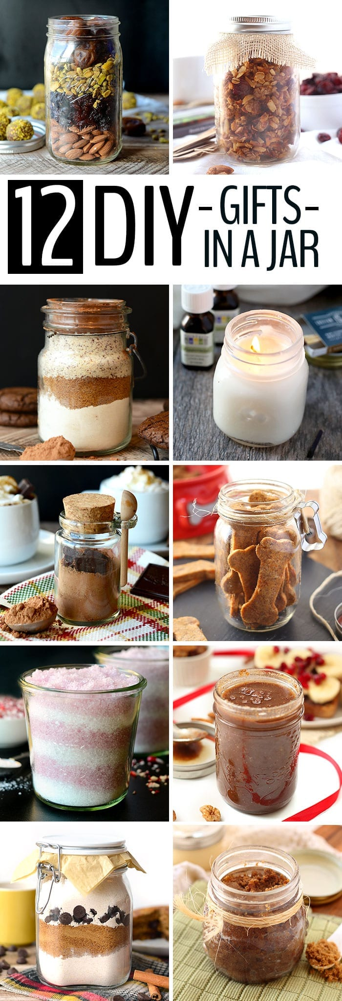 12 DIY Holiday Gifts In A Jar - The Healthy Maven