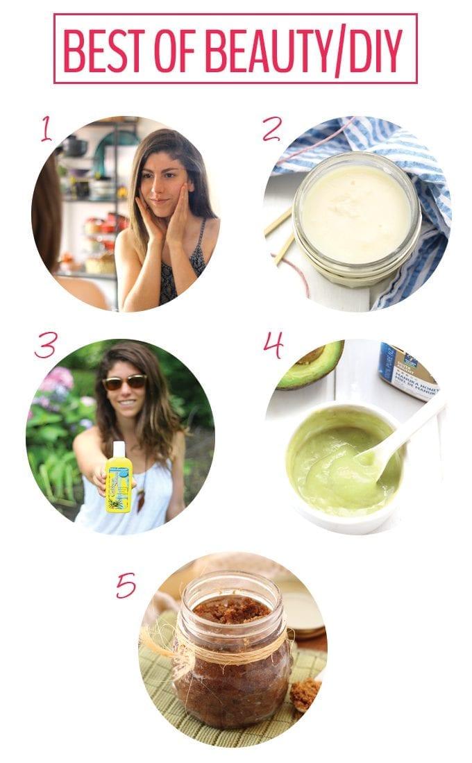 Best of The Healthy Maven 2015- Beauty/DIY