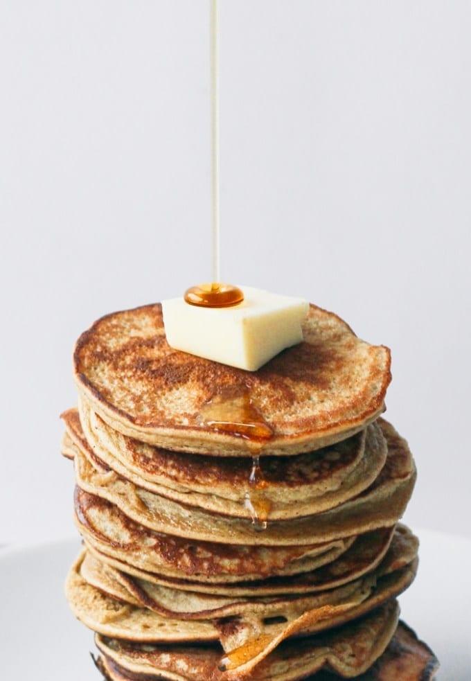 Oatmeal Cottage Cheese Banana Pancakes Healthy Eats