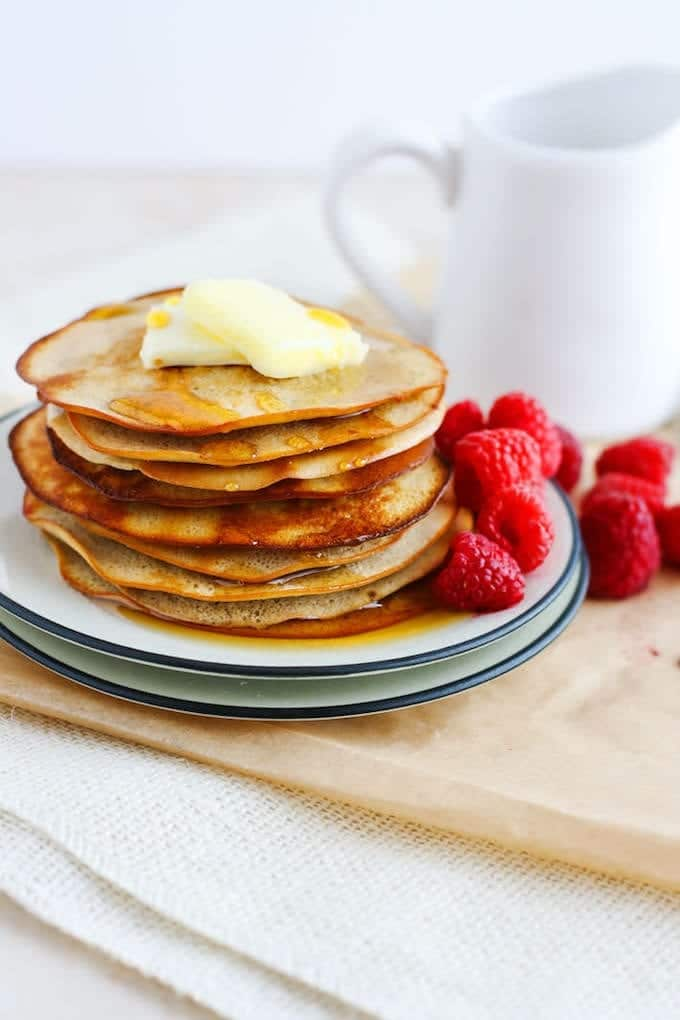 The Ultimate Healthy Pancake Recipe Round Up The Healthy