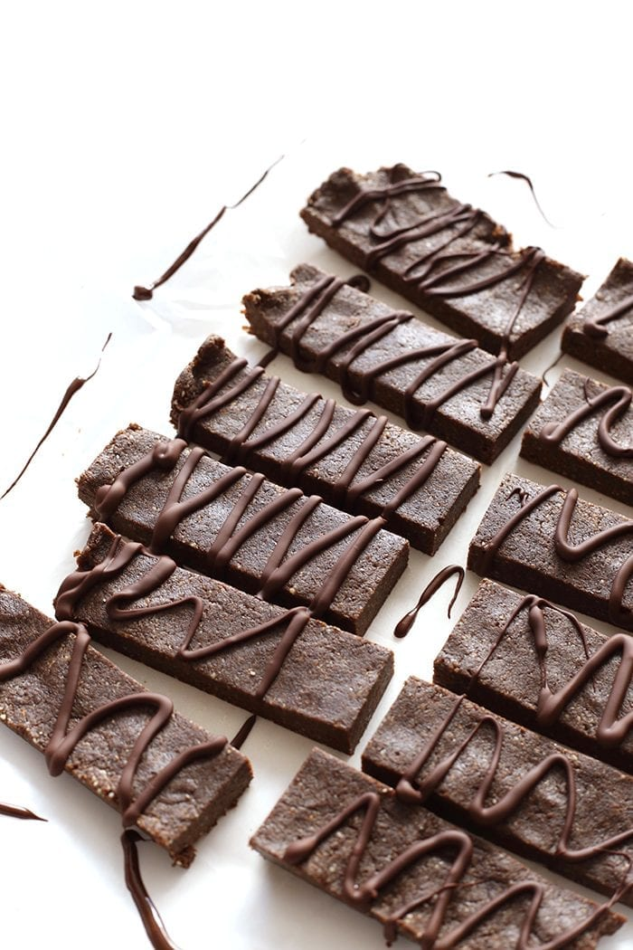 High-quality protein powder, combined with delicious espresso make these Healthy Mocha Protein Bars your new go-to snack recipe. They're easy to whip up, made from simple ingredients and are perfect to throw into your bag for life on the run.