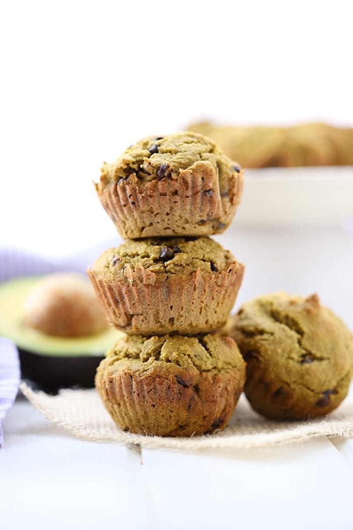 healthy-chocolate-chip-avocado-muffins-6