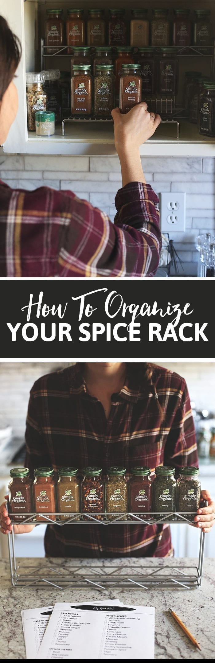 It's easy to get overwhelmed with spices and lose sight of the ones you really need. This post will walk you through which spices are essential, which ones are nice to have and how to keep things organized so you don't get overwhelmed!