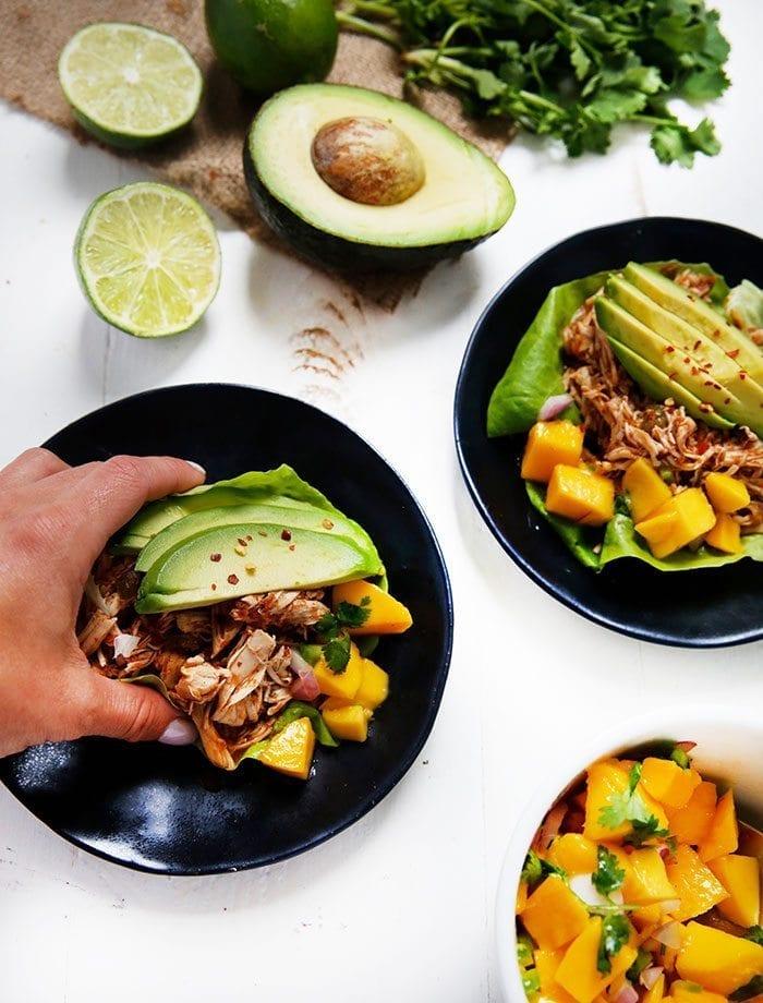 Food 1 2017 5 8 Quinoa Chickpea Mediterranean Salad >> The Ultimate Potluck Dish Round-Up - The Healthy Maven