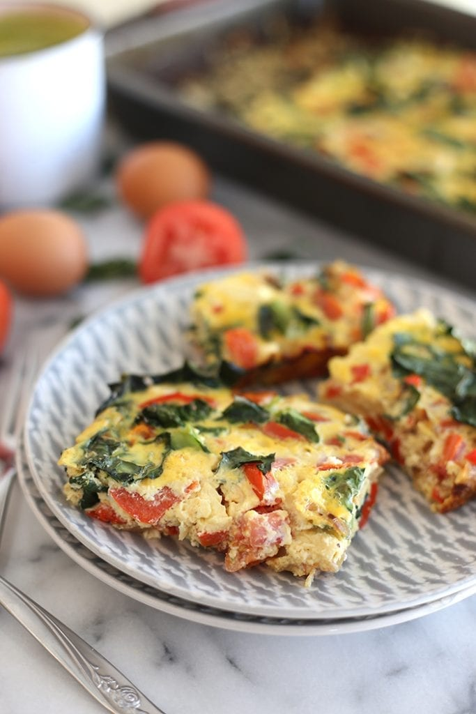 Easy-Veggie-Egg-Bake
