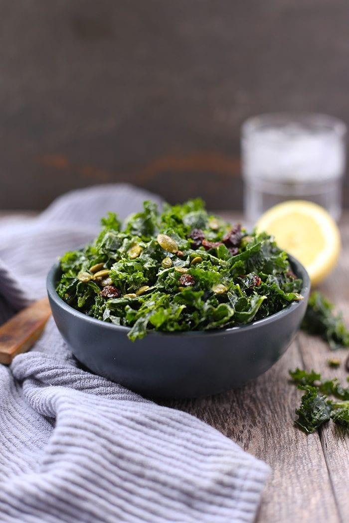 Kale-Tahini-Salad