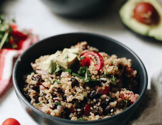 Get your Mexican fix with this healthy and easy Quinoa Taco Salad. This meal with inspire you to incorporate more plant-based meals into your life that are full of flavor and good-for-you ingredients.