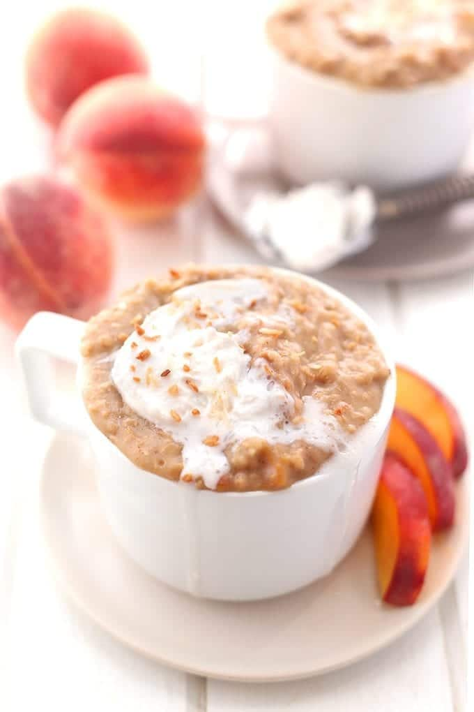 Slow-cooker-Peaches-and-Cream-Steel-Cut-Oatmeal-4