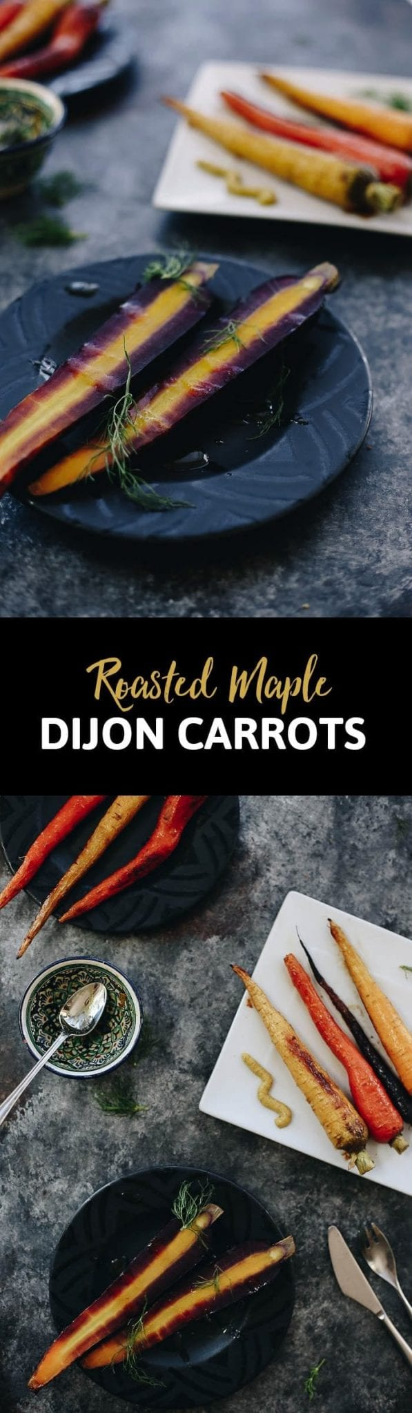 You'll find the perfect side dish recipe in these Roasted Maple Dijon Carrots. Marinate and roast to perfection to make dinner easier and healthier every night of the week.