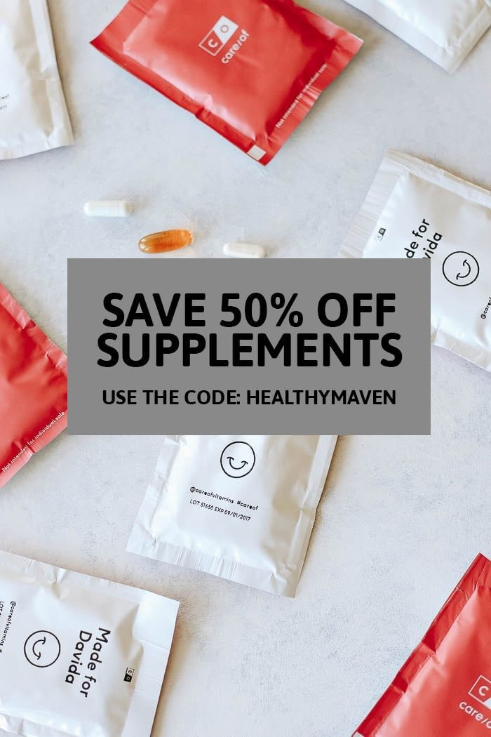 What Supplements Should I Be Taking? Learn the easiest way to figure out what supplements you should be taking all with an easy questionnaire! Care Of has you covered.