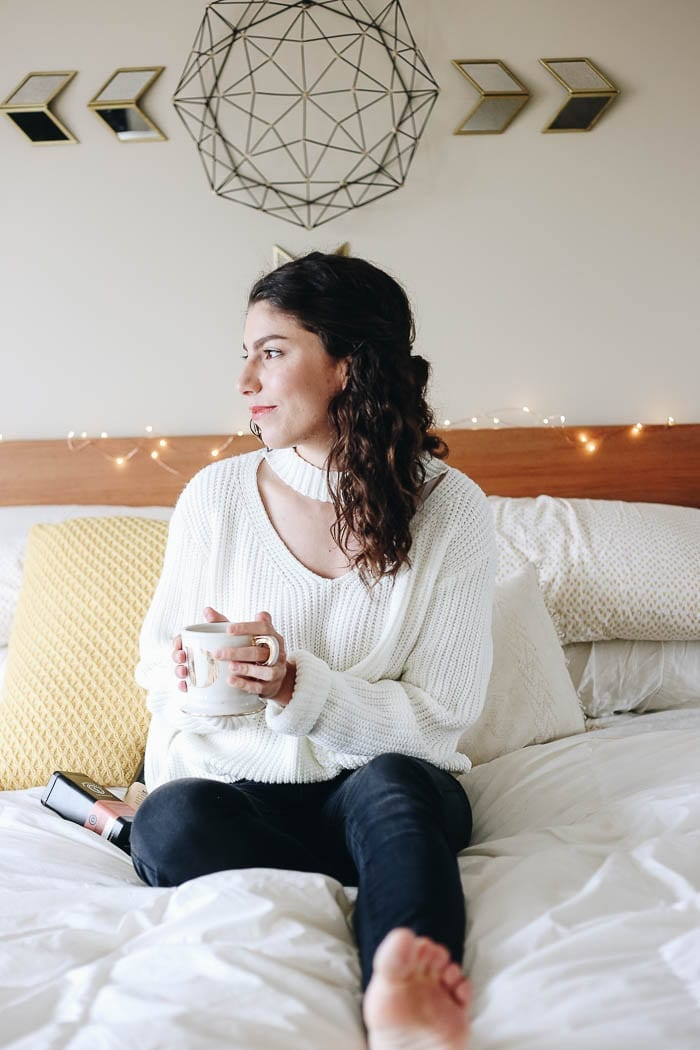 "Today on The Healthy Maven we're exploring the concepts of Hygge vs. Minimalism and the question of ""can they exist together""?"
