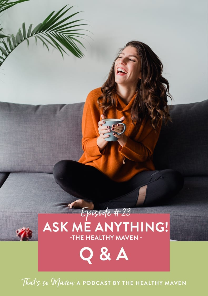 On episode #23 of That's So Maven, we're chatting with ME and I'm opening up the interview floor to you guys where you have the chance to ask me anything!