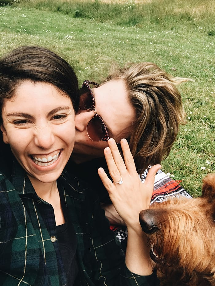 All the behind-the-scene details on The Healthy Maven Engagement. From how he asked to how we celebrated, here's how C proposed to D!