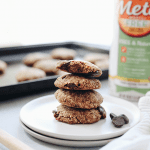 Trying to get more fiber in your diet? These Healthy High Fiber Cookies with chocolate chips are packed full of fiber and are gluten-free and vegan too!