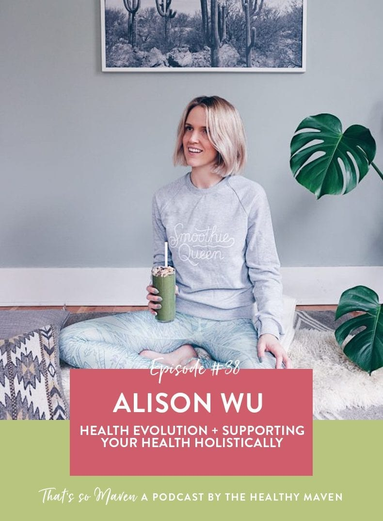 On Episode #38 of That's So Maven Podcast, we have Alison Wu, a food, prop and wardrobe stylist from Portland sharing her tips for feeling great in your skin.