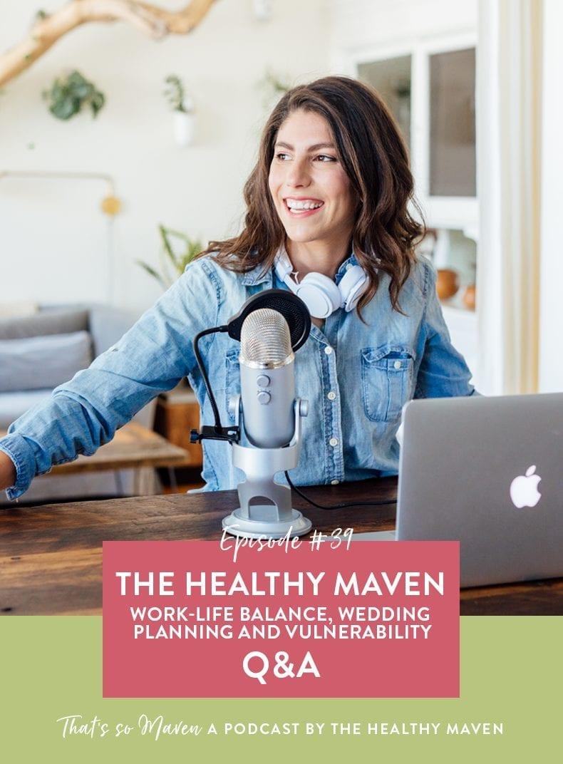 For episode 39 of That's So Maven, we're changing things up and Talia from the Party in my Plants podcast is doing a Q&A with The Healthy Maven!